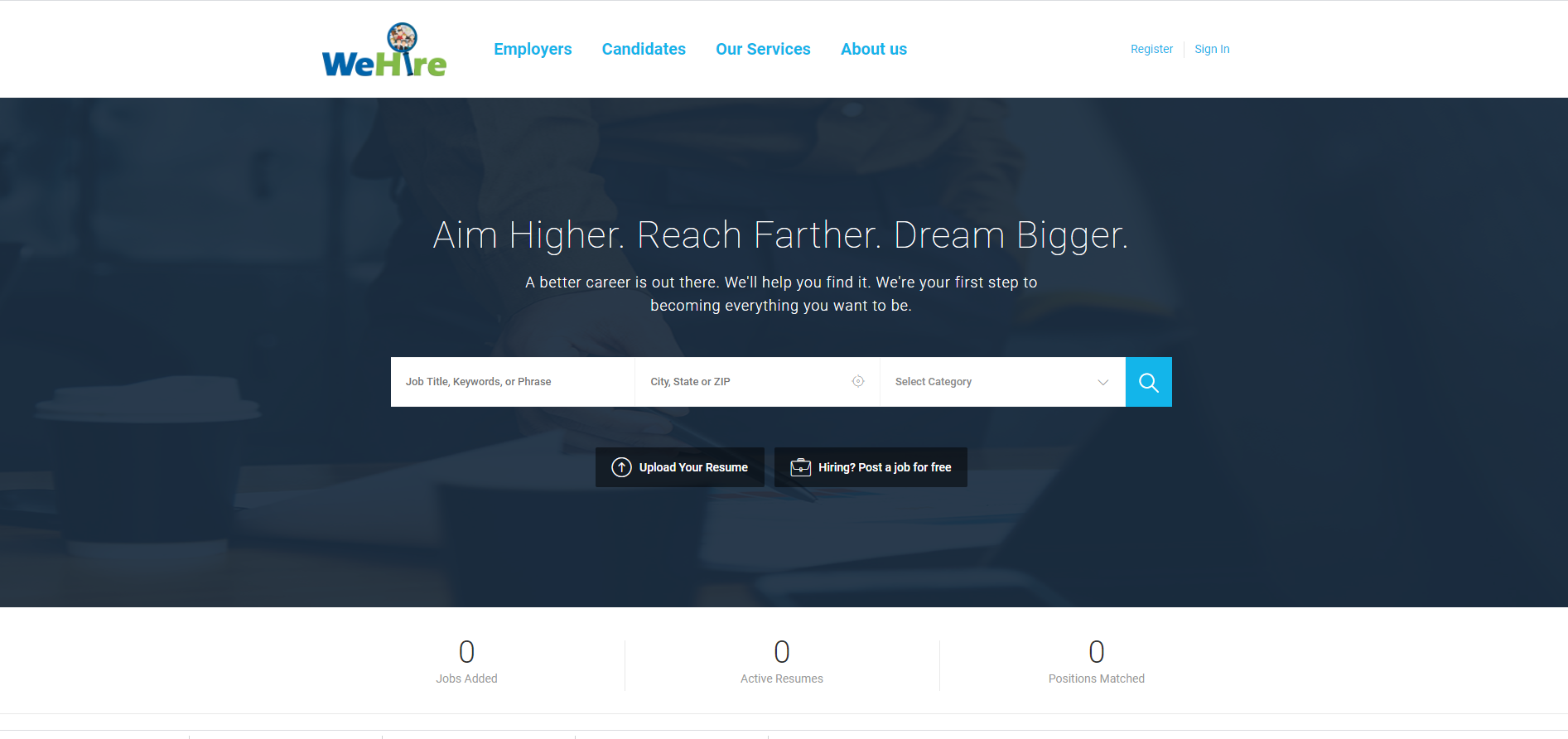 client website wehire